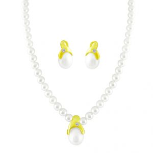 Jpearls Love - Some Diamond Pearl Pendant Set
