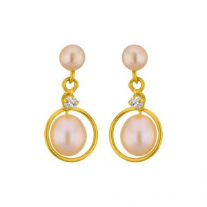 Jpearls Circular Earrings