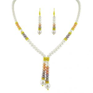 kiara,the jewelbox,jpearls,mahi,soie,hoop,jagdamba Pearl Jewellery Sets - Jagdamba Brilliant Pearl Set