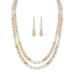 Jpearls Pink Beauty Pearl Set - Jpnov-003