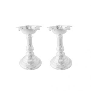Jagdamba Home Decor & Furnishing - Jpearls Spiritual Silver Diyas