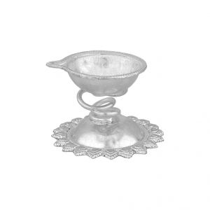 Silverware - Jpearls  Devotional Puja Diya