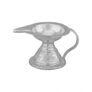 Jagdamba Home Decor & Furnishing - Jpearls  Classic  Puja Diya