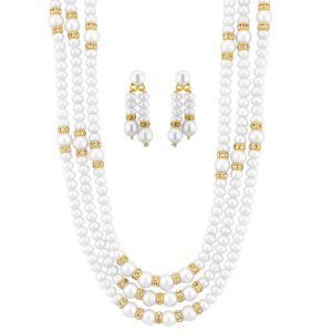 Jagdamba Pearl Necklaces - Jpearls Saroja Necklace