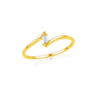 Jpearls Venice Diamond Finger Ring