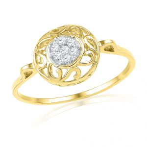 18kt Gold Imperial Diamond Finger Ring