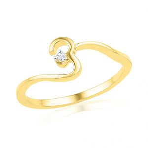 18kt Gold Noble Diamond Finger Ring