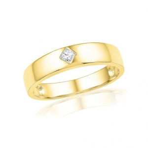 Jpearls 18 Kt Gold Abell Diamond Finger Ring