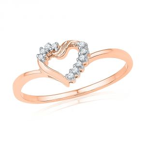 Jpearls Valentines Day Special Diamond Finger Ring