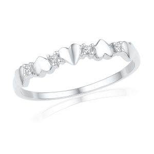 Jpearls Gift Of Love Diamond Finger Ring