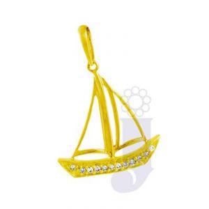 Jpearls Women's Clothing - jpearls sailing heart diamond pendant- FOR MENS
