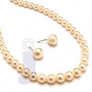 Jpearls Exclusive Single Line Pearl Necklace