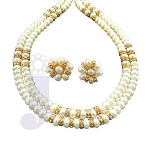 Jpearls Caramel Pearl Necklace