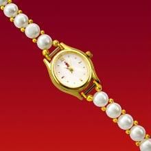 Buy Valentine Gifts Jagdamba Shiny Pearl Watch Online Best