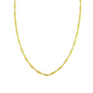 Rcpc,Ivy,Pick Pocket,Jagdamba Women's Clothing - Jpearls 22kt Pure Gold Chain