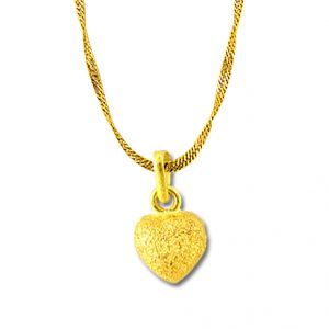 Jpearls Sweet Heart Gold Chain