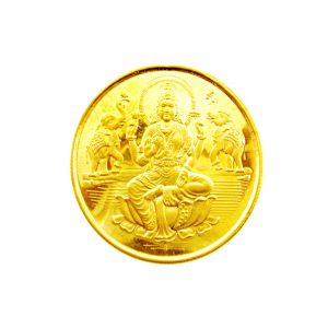 Jagdamba 22kt Laxmi Gold Coin- 8 Grams