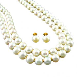 Jpearls Dazzling Pearl Necklace