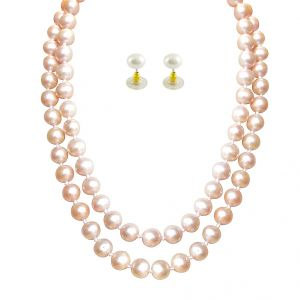 Jpearls Facinating Knotted Pearl Set
