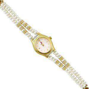 Jagdamba Watches - Jpearls Sagar Pearl Watch  - SJPJRGS18
