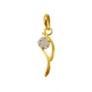 Jagdamba Starry Diamond Pendant
