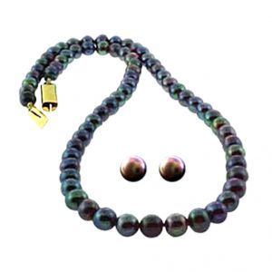 triveni,pick pocket,platinum,jpearls,fasense Pearl Necklaces - jpearls pretty pearl necklace