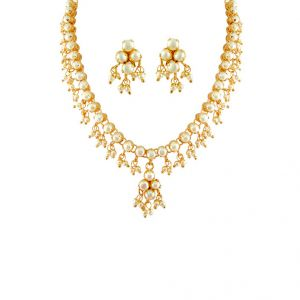 Jagdamba True Love Necklace Set.