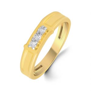 18kt Gold Imperial Diamond Finger Ring (tgr10110315 )