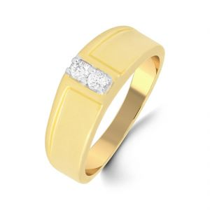 18 Kt Gold Enchanting Diamond Finger Ring (tgr10110382 )