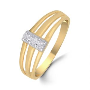 18 Kt Gold Impeccable Diamond Finger Ring (tgr10110418 )