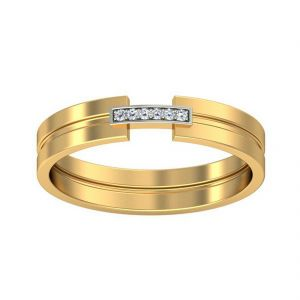 18 Kt Gold Sophie Diamond Finger Ring (tgr10212953 )