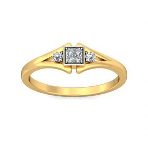 Glassy 0.06ct Diamond Ring (tlr10212701 )