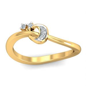 Flawless 0.04ct Diamond Ring (tlr11113678 )