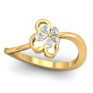 Queen 0.06ct Diamond Ring (tlr11113682 )