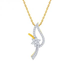 Asmi,See More Women's Clothing - Asmi Yellow Gold Diamond Pendant PP12003SI-JK18Y