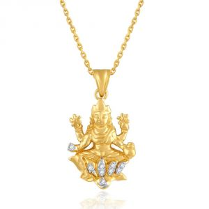 Saumya Yellow Gold Diamond Pendant Pp14393si-jk18y