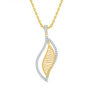 Kiara,Shonaya,Avsar,The Jewelbox,Gili Women's Clothing - Gili Yellow Gold Diamond Pendant EP794SI-JK18Y