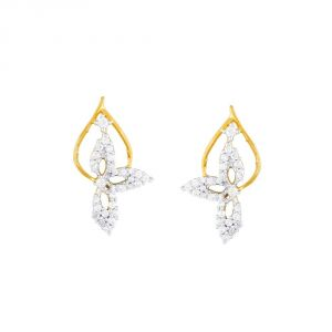 Asmi,Kalazone,Tng,Soie Women's Clothing - Asmi Yellow Gold Diamond Earrings BAEP078SI-JK18Y