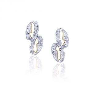 Asmi,Sukkhi,Sangini,Lime,Sleeping Story,Absolute Fitness Diamond Jewellery - Asmi Yellow Gold Diamond Earrings IDE00354SI-JK18Y