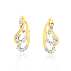 Soie,Port,Ag,Asmi,Cloe,Gili Women's Clothing - Asmi Yellow Gold Diamond Earrings IDE00932SI-JK18Y