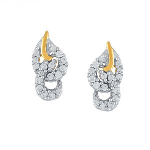 Gili Yellow Gold Diamond Earrings Pe16660si-jk18y