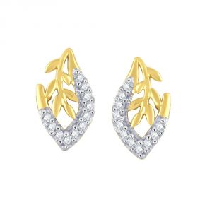Asmi,Platinum,Kiara,Vipul,Kaamastra Women's Clothing - Asmi Yellow Gold Diamond Earrings PE16971SI-JK18Y