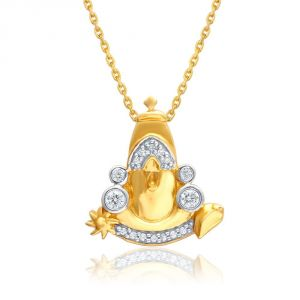 Saumya Yellow Gold Diamond Pendant Atr1p007si-jk18y