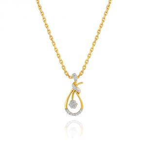 Maya Diamond Yellow Gold Diamond Pendant Pp17793si-jk18y