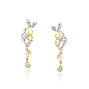 Gili Yellow Gold Diamond Earrings Yde00525si-jk18y