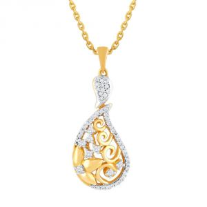 Gili Yellow Gold Diamond Pendant Aap535si-jk18y