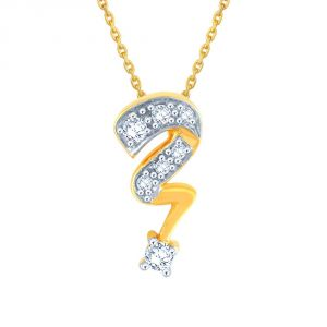 Vipul,Port,Fasense,Triveni,The Jewelbox,Gili,Tng Women's Clothing - Gili Yellow Gold Diamond Pendant AP749SI-JK18Y