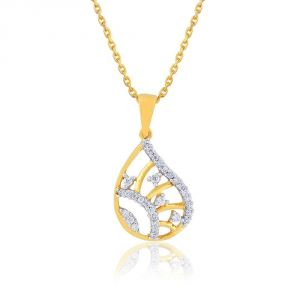 Gili Yellow Gold Diamond Pendant Bap554si-jk18y