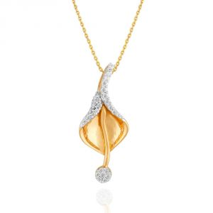 Sangini Yellow Gold Diamond Pendant Ip735si-jk18y