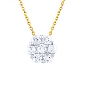 Nakshatra Yellow Gold Diamond Pendant Npa103si-jk18y